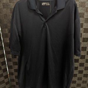 Men's Black Nike Golf Fit Dry Golf Polo Shirt XXL